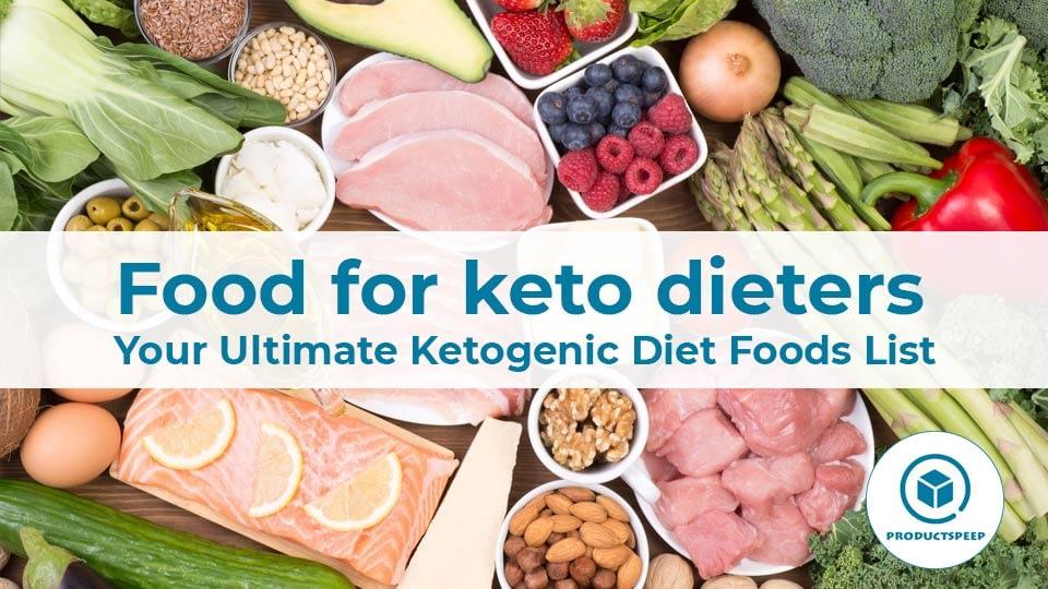Food for keto dieters