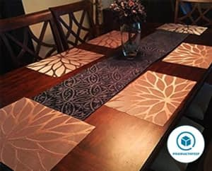HEBE Placemats for Dining Table, Set of 4 - Placemats for table