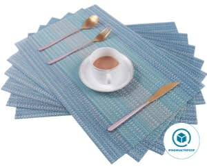 Pauwer Placemats Set of 4 for Dining Table