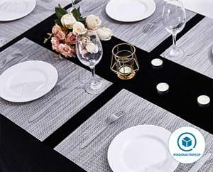 DOLOPL Placemats PVC Table Mats Beige Placemat Set of 6