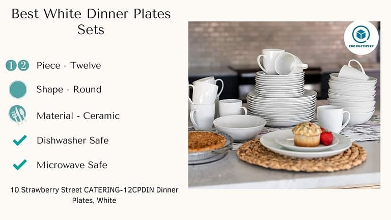 Best white dinner plate sets - 10 Strawberry Street Dinner Plates